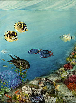 Tropical Reef Fish by Gail Darnell