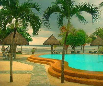 Tropical Resort by Emelyn McKitrick