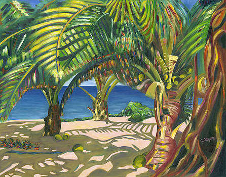 Tropical Shadows by Artimis Alcyone