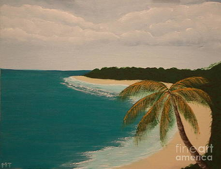 Tropical Shore by Michelle Treanor