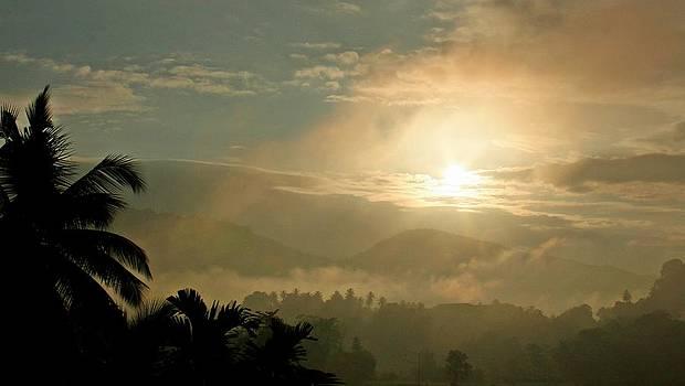 Tropical Sunrise by Ajithaa Edirimane