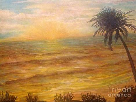 Tropical sunrise  by Linea App