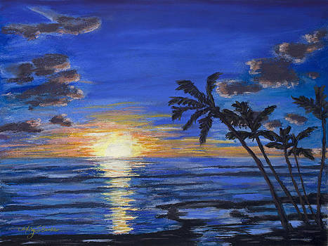 Mary Benke - Tropical Sunset
