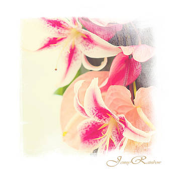 Jenny Rainbow - Tropical Wedding Bouquet. Mini-Idea for Interior