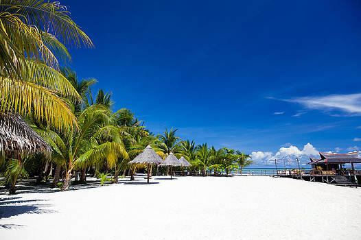 Fototrav Print - Tropical White Sand Beach Borneo Malaysia
