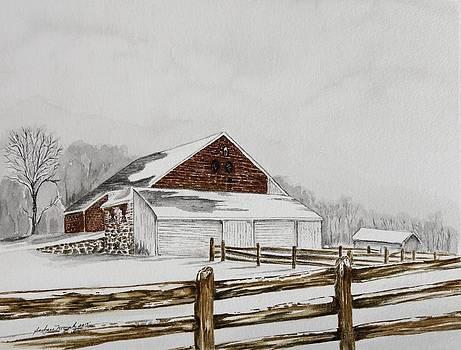 Trostle Farm 1850 by Barbara Murphy