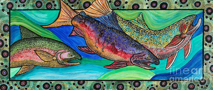 Trout Alive by Melissa Cole