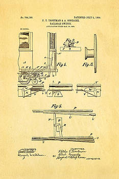 Ian Monk - Troutman and Gonzalez Railroad Switch Patent Art 1904