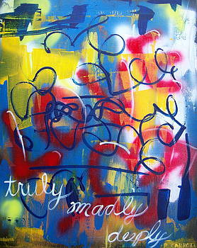 Truly madly deeply by Peggy Carroll