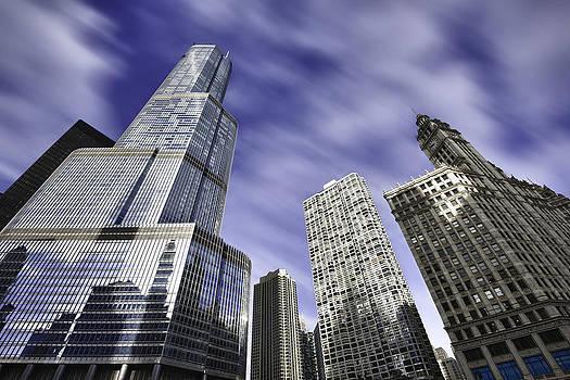 Sebastian Musial - Trump Tower and Wrigley Building