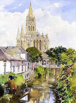 Truro Cathedral by Margaret Merry
