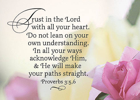 Trust in the Lord by Sarah Christian