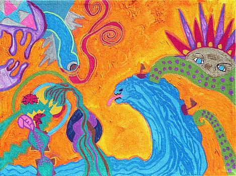 Tsunami by Pilar  Martinez-Byrne