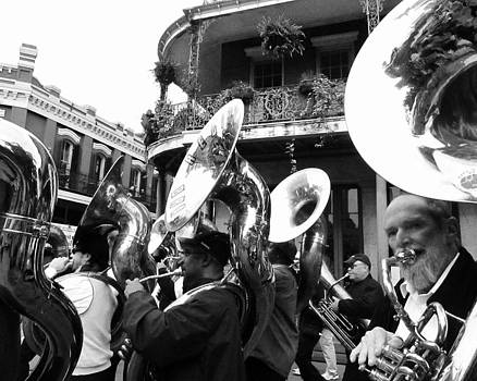 Tuba Fest Parade Jackson Square New Orleans by Debora PeaceSwirl DAngelo