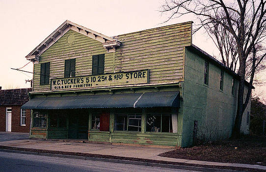 Tuckers Country Store in Virginia by Thomas D McManus