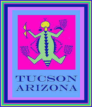 Tucson Arizona Shaman by Vagabond Folk Art - Virginia Vivier