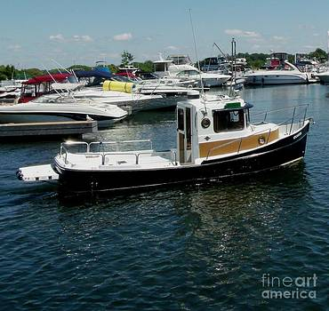 Gail Matthews - Tug Boat