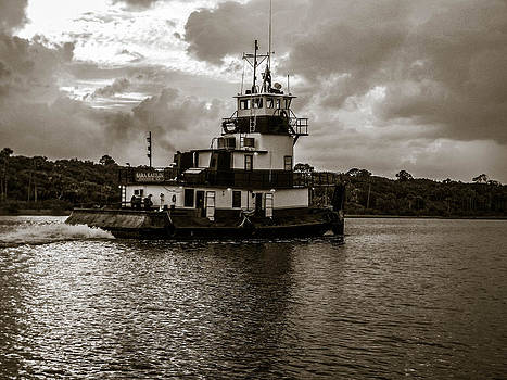 Christy Usilton - Tug on the Halifax River