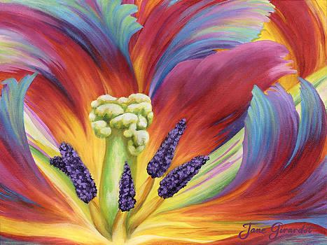 Jane Girardot - Tulip Color Study