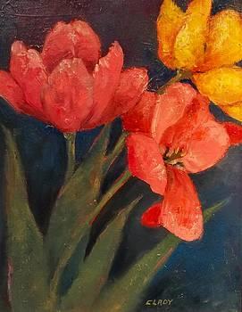 Tulip Trio by Mary Ann Clady