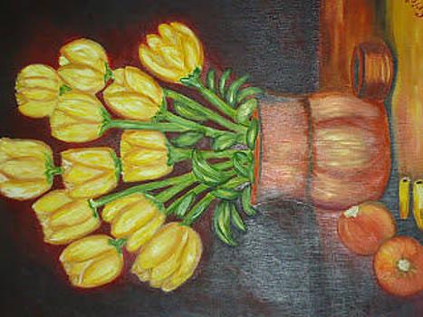 Tulipanes by Cristina Chavez