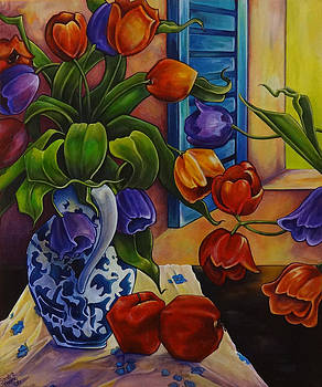 Tulips and Apples by Thome Designs