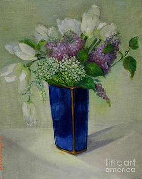 Tulips And Lilacs by Kathleen Hoekstra