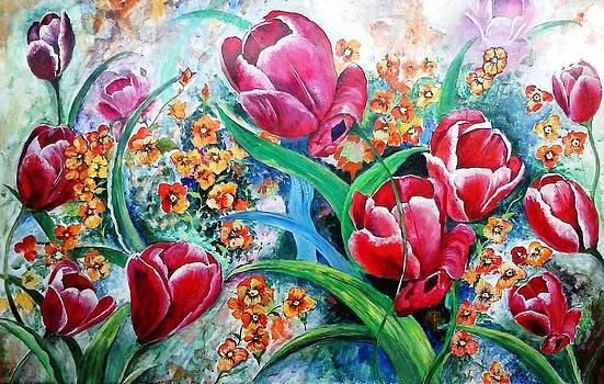 Tulips by Ashwini Tatkar