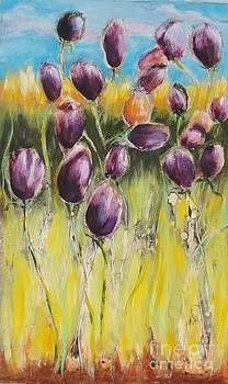Tulips at High Noon by Beth Fischer
