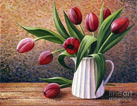 Tulips Bouquet by Varvara Harmon