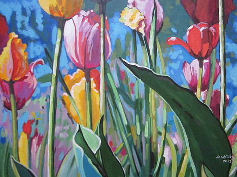 Tulips For You by Andrei Attila Mezei