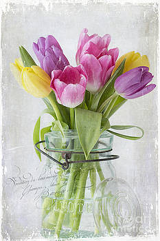 Tulips in a Jar by Cindi Ressler