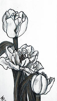 Tulips by Mariya Bobrovskaya