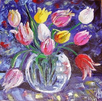 Tulips by Nina Mitkova
