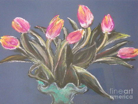 Tulips by Sharon Wilkens