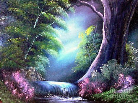 Tumbledown Glowing by Cynthia Adams