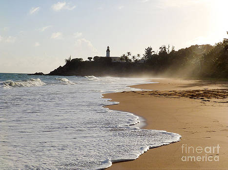 Tuna Punta Lighthouse and Beach in Puerto Rico by G Matthew Laughton