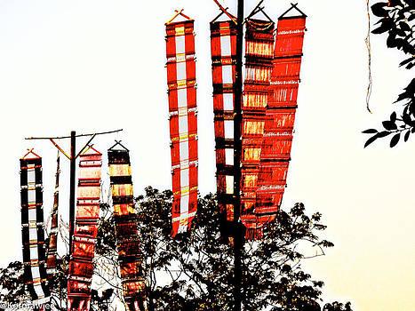 Tungs or Flags by Kornrawiee Miu Miu
