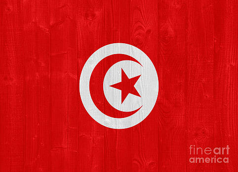 Tunisia flag by Luis Alvarenga