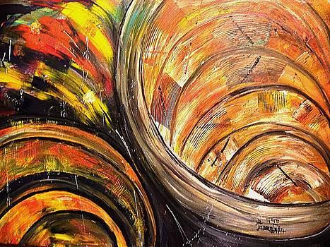 Tunnel Of Turmoil by Laura Fatta