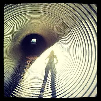 Tunnel Shadows #railroad #tunnel by HK Moore