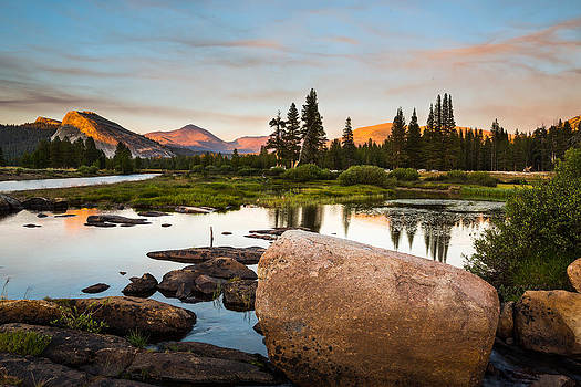 Tuolumne Sunset by Mike Lee
