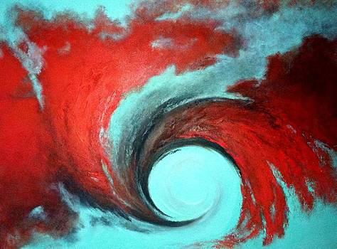 Turbulence by Marina Hanson
