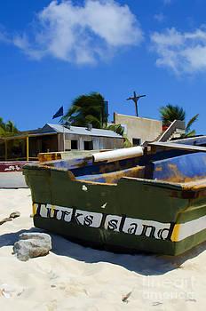 Turk Boat by Jerry Hart