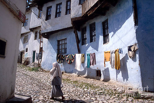 Turkish Village Street by Eva Kato