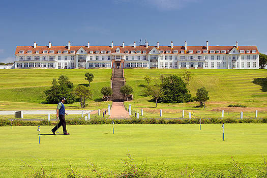 Turnberry Hotel by Fiona Messenger