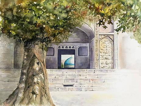 Turquoise Dome by Ida Yavari