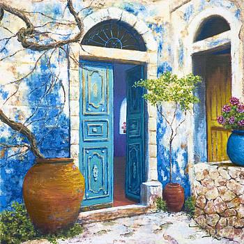 Turquoise by Miki Karni