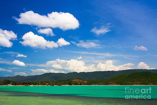 Fototrav Print - Turquoise water Koh Samui Thailand