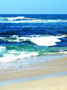 Sharon Tate Soberon - Turquoise Waves...